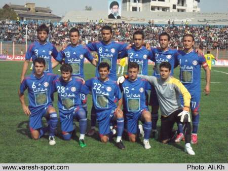 گزارش تصویری فوتبال داماش گیلان - نفت مسجد سلیمان (۱)