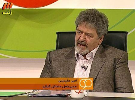 برنامه نود و حضور علی نظرمحمدی دروازه بان و مهندس امیر عابدینی مدیرعامل باشگاه داماش